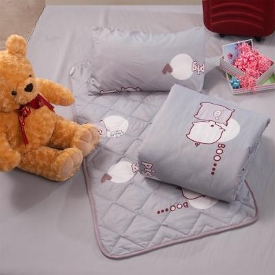 可愛小豬 兒童涼被睡墊童枕3件組