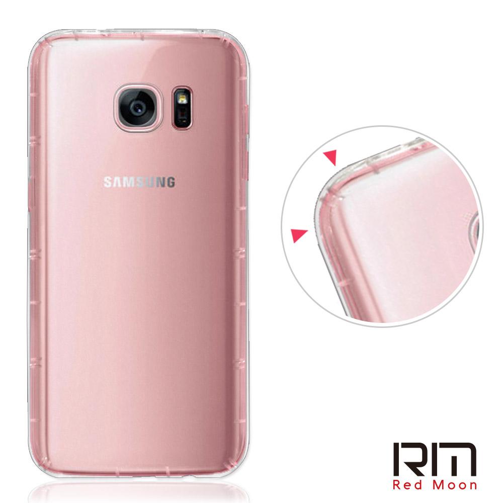 RedMoon 三星 Galaxy S7 Edge 防摔透明TPU手機軟殼 @ Y!購物