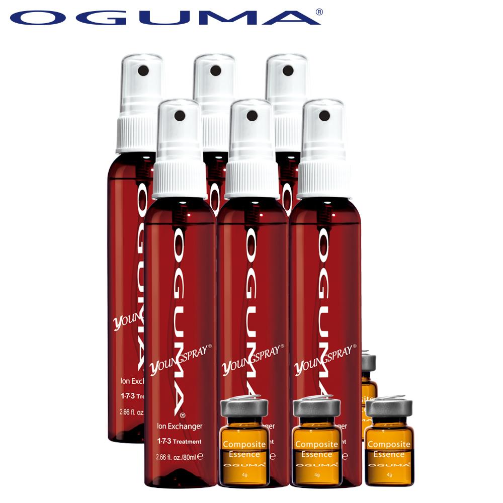 OGUMA水美媒 DaySpa離子導入精華組x6組