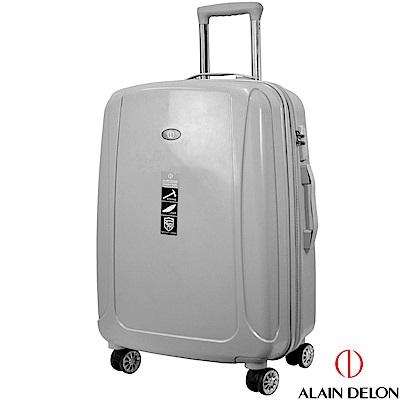 ALAIN DELON 亞蘭德倫 24吋旅者風情系列旅行箱(灰)