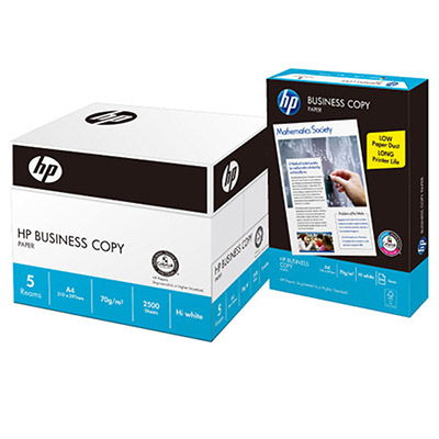 HP惠普-多功能影印紙A4 70G(5包/箱)