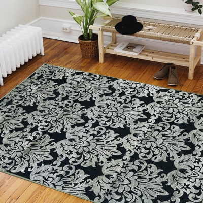 Ambience 比利時Valentine玄關/床邊絲毯-大馬士革(68x110cm)