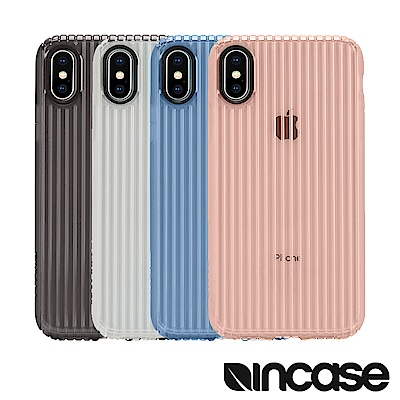 INCASE Protective Guard iPhone X 條紋彈性背蓋