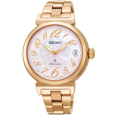 SEIKO-LUKIA-優雅綻放-時尚機械腕錶-S