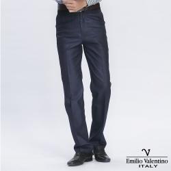 Emilio Valentino 范倫提諾經典仿牛仔休閒褲-藍