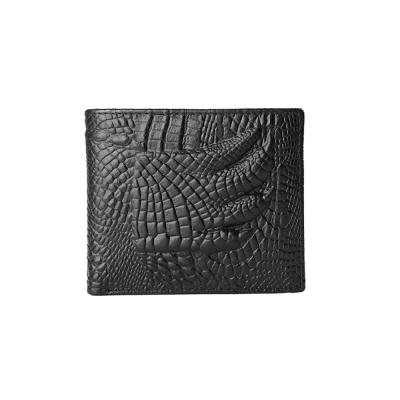 JINBAOLAI GT1710BK 真皮皮夾黑色