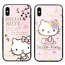 GARMMA Hello Kitty iPhone X 鋼化玻璃殼