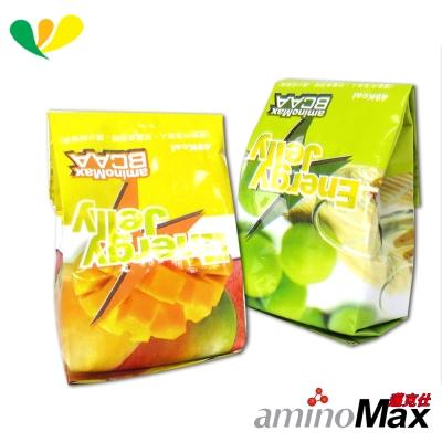 aminoMax邁克仕 ENERGE JELLY 能量晶凍(青梅)(芒果)(各10顆)