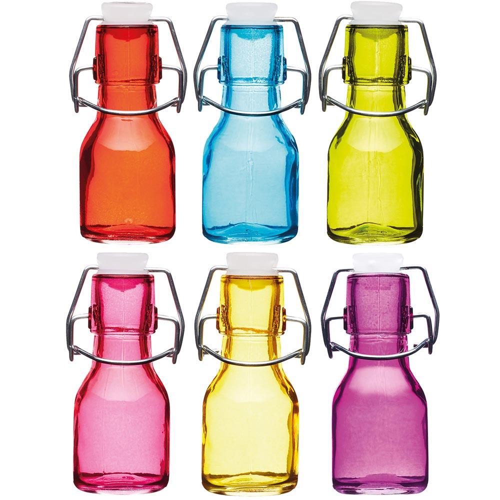 KitchenCraft 迷你密封玻璃瓶(65ml)