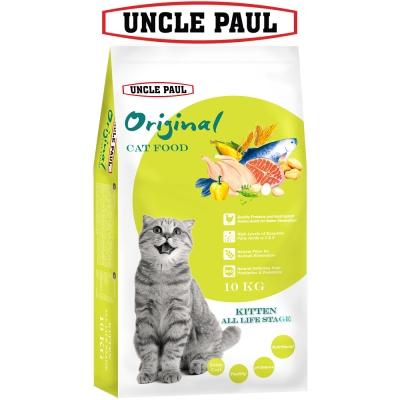 UNCLE PAUL 保羅叔叔田園生機貓食 10kg 幼貓 全齡用