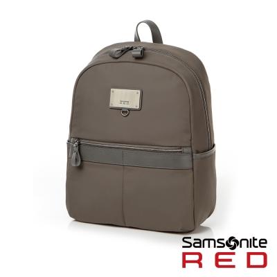 Samsonite-RED-女用筆電後背包10吋灰