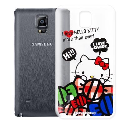 Hello Kitty Samsung Galaxy Note 4 透明軟式殼 ...