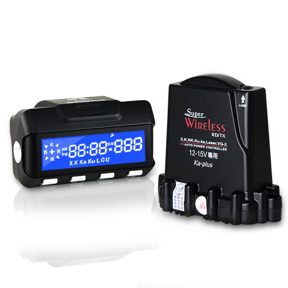 X戰警 神隼 GPS 998 plus 分離式 全頻 雷達測速器-快