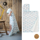 荷蘭 FRESK 有機棉嬰兒浴巾/保暖毯 (5種款式)