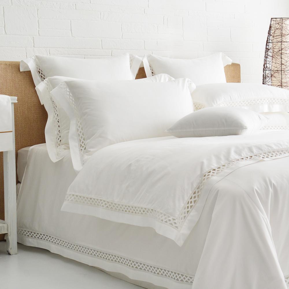 Cozy inn 北角 雙人四件組 300織精梳棉薄被套床包組