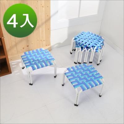 《BuyJM》四方板帶椅凳/板凳4入-免組 @ Y!購物
