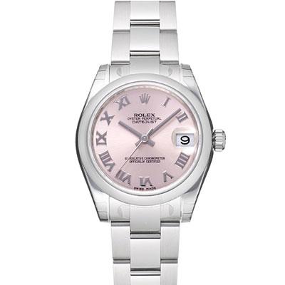 ROLEX 勞力士 Datejust 178240 蠔式恆動日誌型腕錶-粉紅/羅馬時標/31mm