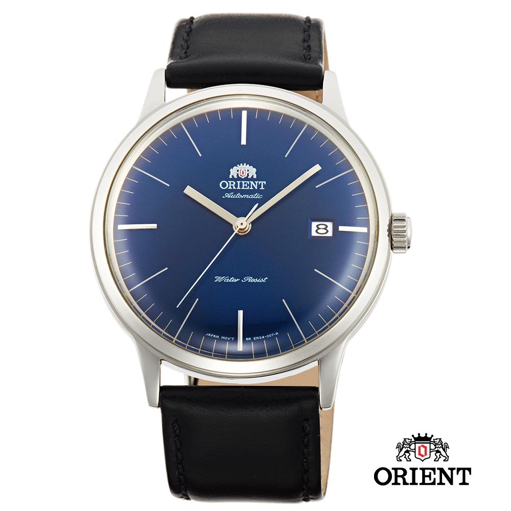 ORIENT 東方錶 DATE Ⅱ 機械錶-深藍/40.5mm