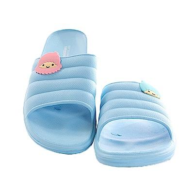 雙子星休閒拖鞋 藍 sk 0273  魔法Baby
