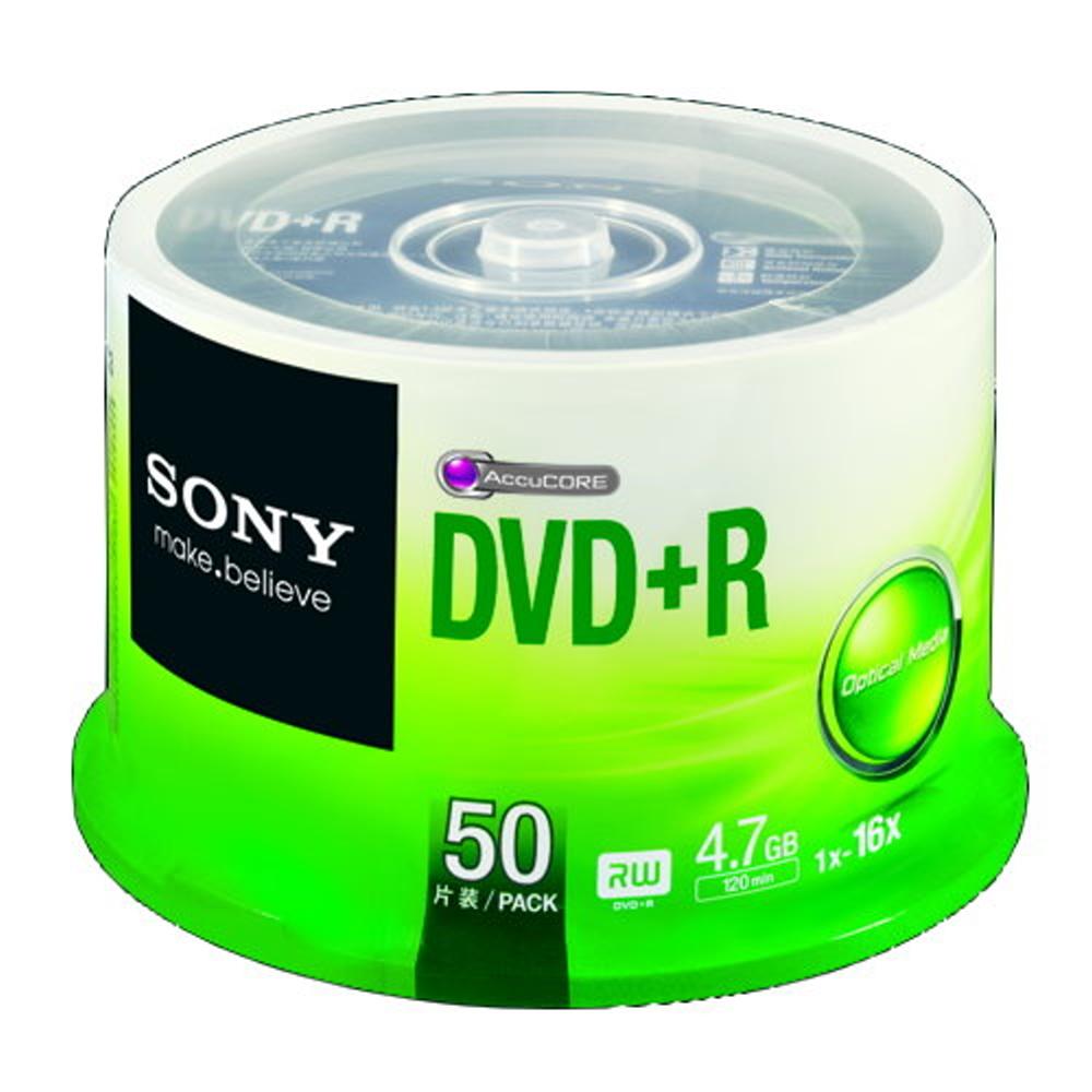 SONY 日本限定版 DVD+R 16X燒錄片 (100片)
