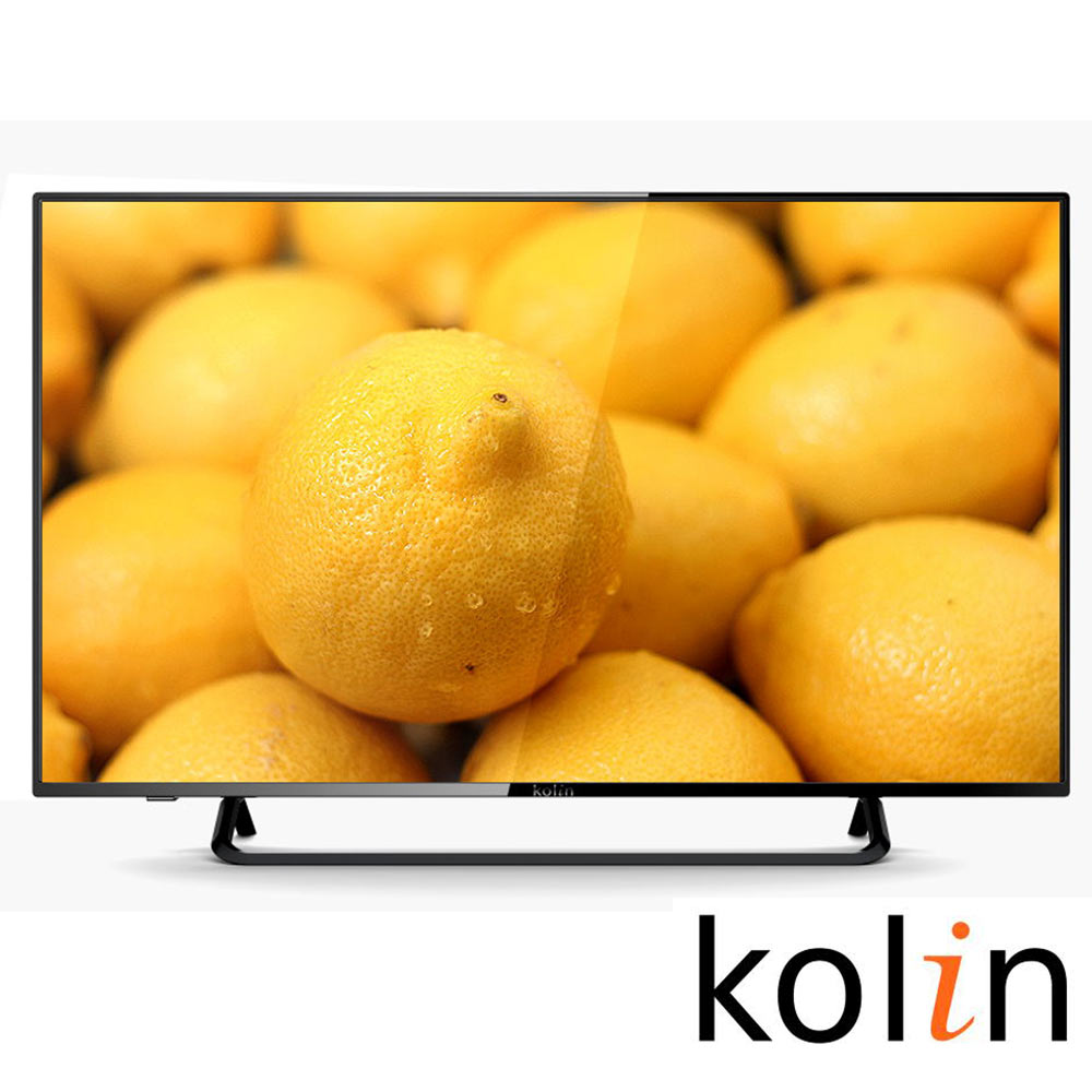 KOLIN歌林 43吋 液晶顯示器+視訊盒 KLT-43EE01