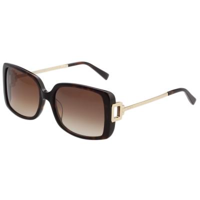 TOD'S 時尚方框 太陽眼鏡 (琥珀色)TO9114