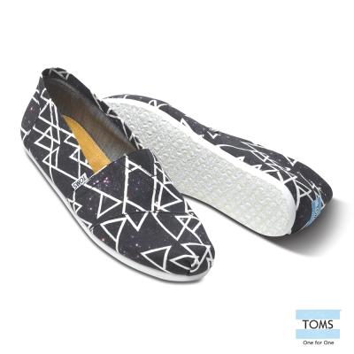 TOMS X PaulVanDyk 聯名星空懶人鞋-男款(黑)