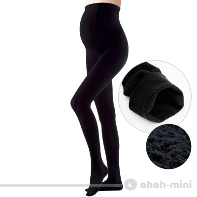 ohoh-mini孕婦裝 內刷毛保暖襪