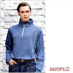 【瑞多仕】男款 Thermolite 長袖保暖衣_DB5902 青瓷藍色 V1