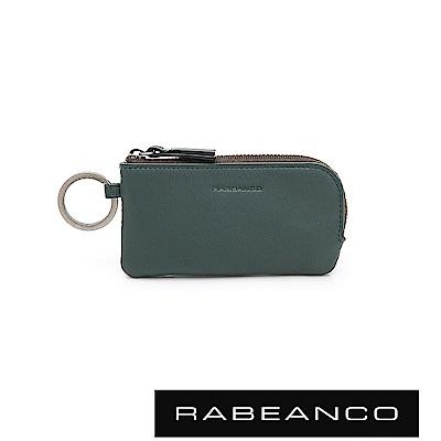 RABEANCO 迷時尚系列鑰匙零錢包 森林綠
