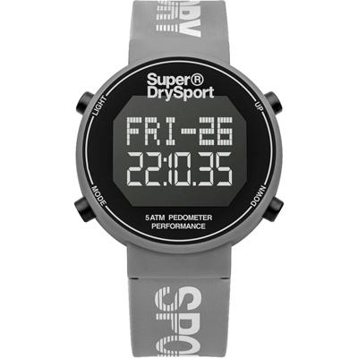 Superdry極度乾燥 街巷行頭運動腕錶-SYL203E/40mm