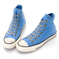 女-CONVERSE 水洗刷色仿舊帆布鞋-1