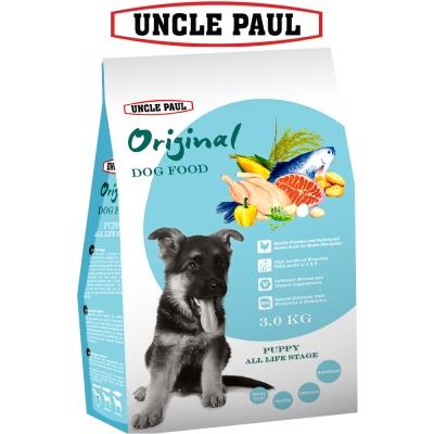 UNCLE PAUL 保羅叔叔田園生機狗食 3kg 幼犬 全齡用
