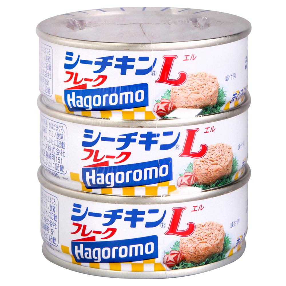 Hagoromo 鮪魚3入罐(210g)