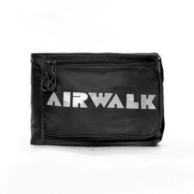 【美國 AIRWALK】第二代手提式多功能輕巧透氣收納袋(黑色)
