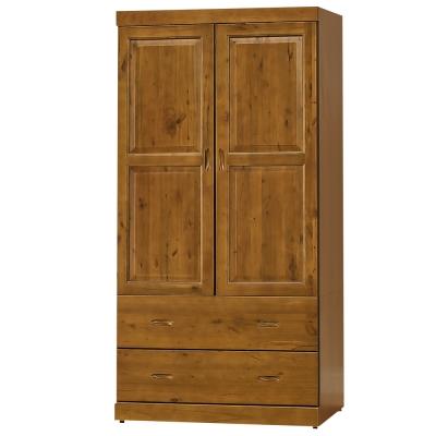 時尚屋 玉桂實木3x6尺衣櫃