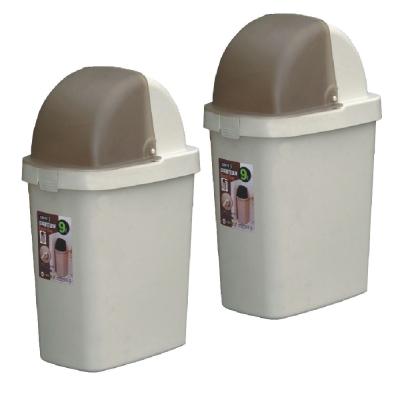 9L中福星垃圾桶(二入)組