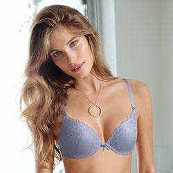 黛安芬-19-優雅花樣系列3-4罩杯內衣B-D罩成套-淡粉紫