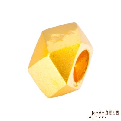 J'code真愛密碼 右偏執面黃金串珠-男
