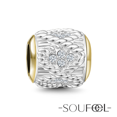 SOUFEEL索菲爾 925純銀珠飾 信仰 串珠