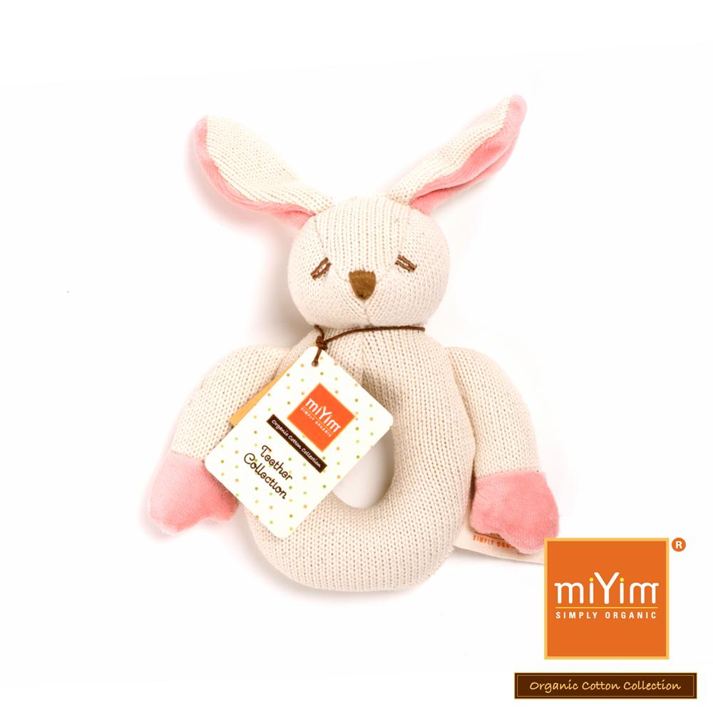 美國miYim有機棉 固齒器-兔兔
