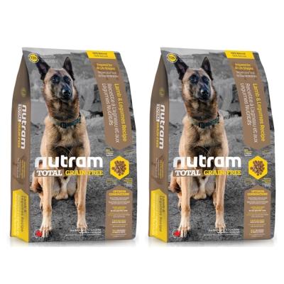 Nutram紐頓 T26無穀潔牙犬 羊肉配方 犬糧 2.72公斤 x 2包入