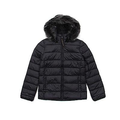 Timberland 女款黑色Mt Madison 短版羽絨夾克