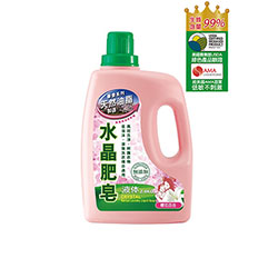 南僑水晶肥皂洗衣液体2.4kg-櫻花百合