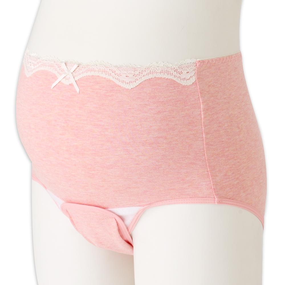 日本犬印 蕾絲產褥內褲 M~L/L~LL 共2色