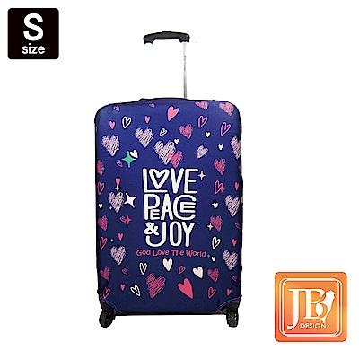LittleChili行李箱套JB3-Love the world -S