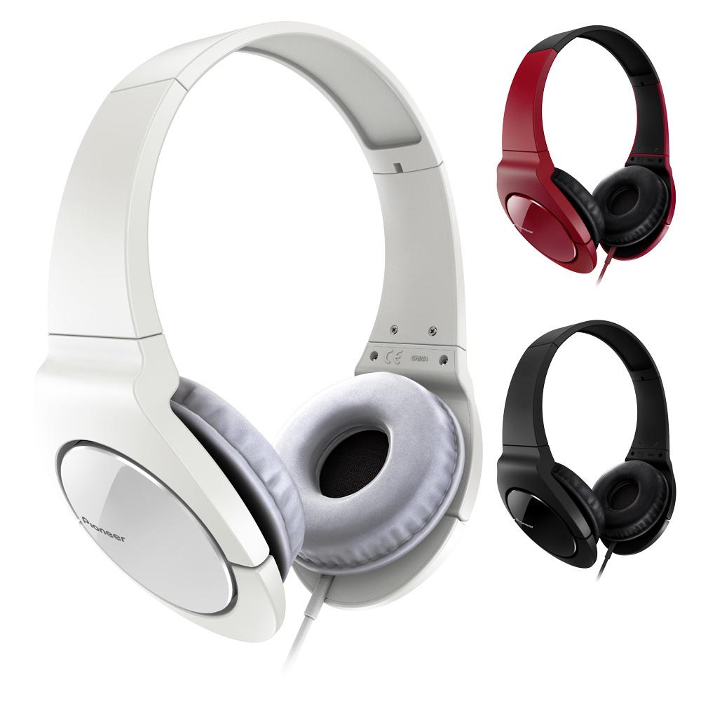 Pioneer時尚重低音頭戴式耳機SE-MJ721加贈SANYO MDR-2011