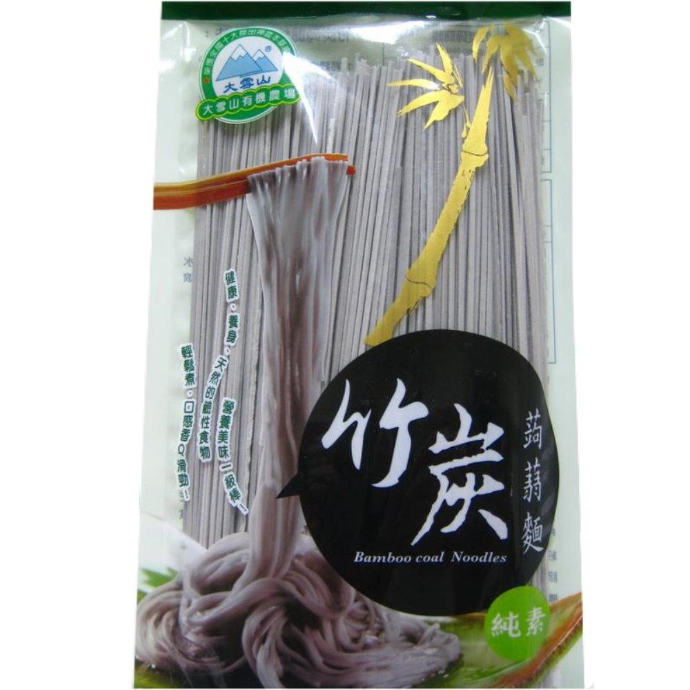 大雪山農場 竹炭蒟蒻麵(6包)