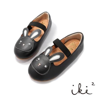 iki2童鞋-咕妮兔俏皮小公主娃娃鞋-黑