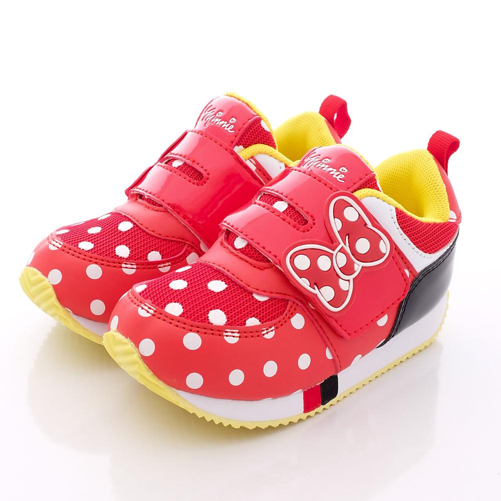 迪士尼童鞋-米妮止滑運動款-FO63001紅(中小童段)HN